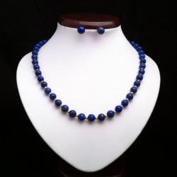 """Lapis lazuli and Gold filled Beads"" SET"