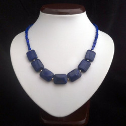 "Necklace ""Seventh Heaven"" Lapis lazuli"