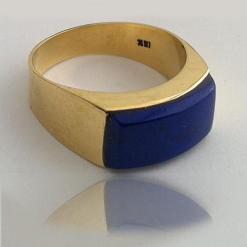"""Anillo """"Cielo Azul"""" Oro 18K"""