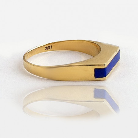 """Ring """"Gust of Wind"""" 18K Gold"""
