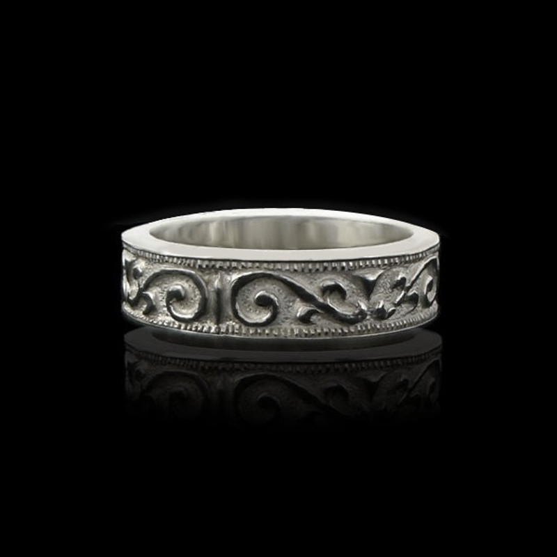 Handmade men ladies ring Romanov vintage antique style