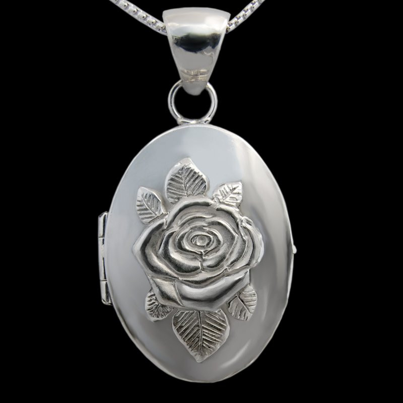 """Juliet's Rose"" Locket Pendant"
