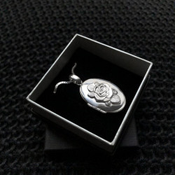 La rosa di Giulietta portaricordi portafoto argento