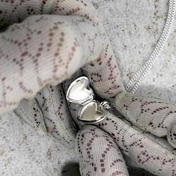 """""""Petite Amelia"""" Heart locket"""