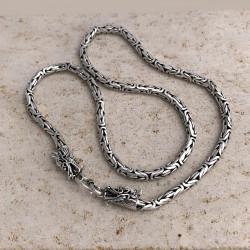 """Antique Byzantine"" Borobudur Chain Men"